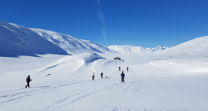 Skitur til Olabu i Hamsedalen