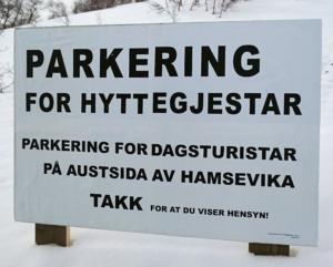 Parkering Breidablikk